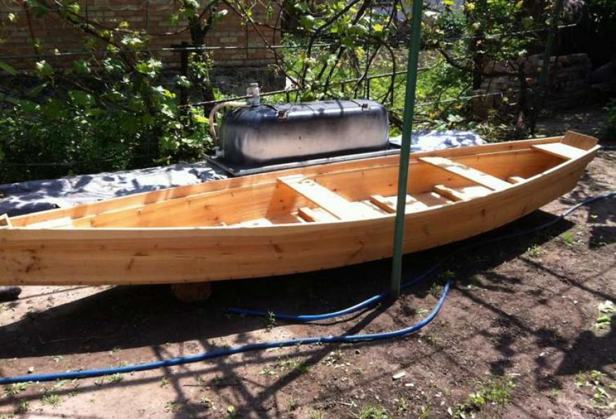 купить лодку баркас олх
